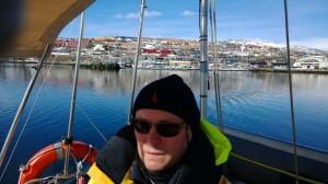 Talvisatama Skattöra Marina jäi taakse 3.5.2014