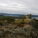 Kiivettiin Strutahatten -nimisen vuoren huipulle.