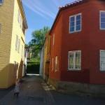 Vanhan kaupungin kapeita katuja